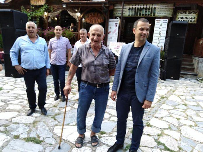 Атанас Петев, Георги Трайков, Стоян Ангов и Крили Котев