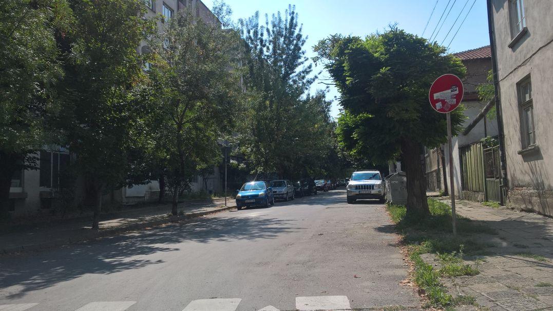 """Паркираните коли и от двете страни по """"Хр. Ботев"""" пречат на видимостта"""