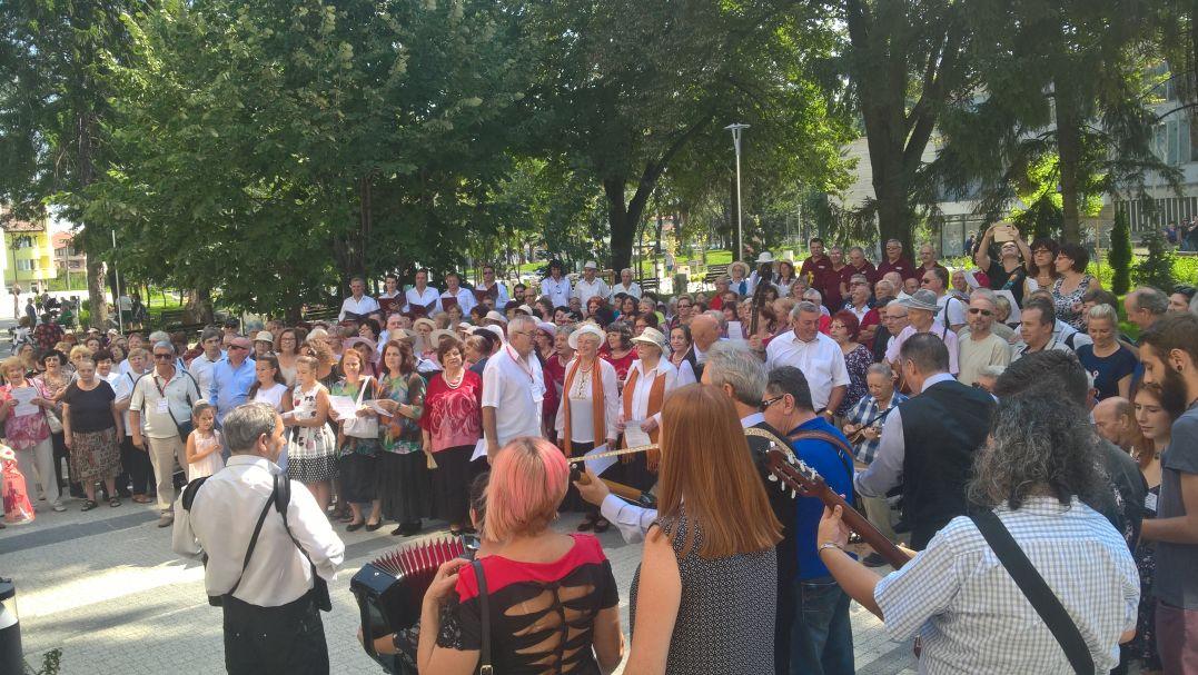 Над 500 българи и македонци пяха заедно
