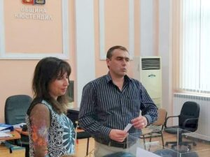 Венцеслав Механджийски и Тодорка Петкова